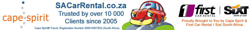 SA Car Rental - Cheap South Africa Car Rental, Kombi Hire